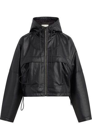 Hudson Sport Vegan Leather Zip Jacket