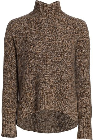 THEORY Women Sports Hoodies - Karenia Mockneck Cashmere Sweater