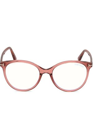 Tom Ford Women Round - 53MM Round Optical Glasses
