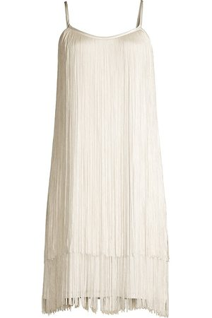 Aidan Mattox Women Party Dresses - Tiered Fringe Mini-Dress