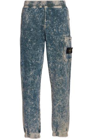 Stone Island Men Sweatpants - Acid Wash Fleece Jogger Pants