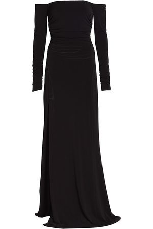Cinq Sept Holly Off-The-Shoulder Gown