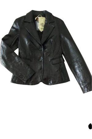 Ra-re Leather blazer