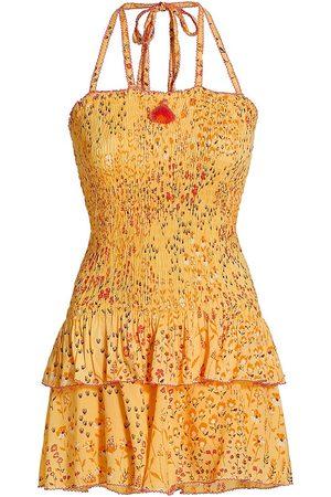 POUPETTE ST BARTH Women Party Dresses - Printed Bandeau Mini Dress