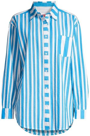 Solid and Striped Women Tunics - The Oxford Striped Tunic