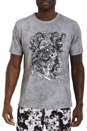 Robert Graham Asahi Octopus Print Short-Sleeve T-Shirt