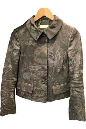 DRIES VAN NOTEN Silk suit jacket