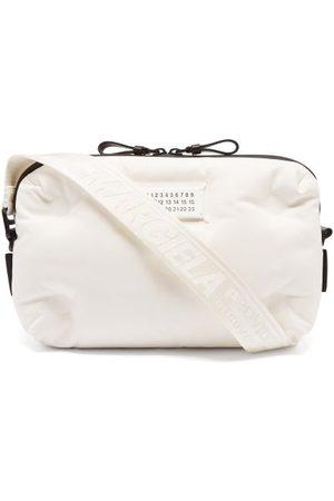 Maison Margiela Men Bags - Padded Quilted Nylon Cross-body Bag - Mens