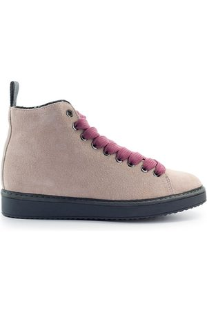 Panchic Women Shoes - Ankle Women Rose Camoscio