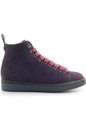 Panchic Ankle Women Violet Camoscio