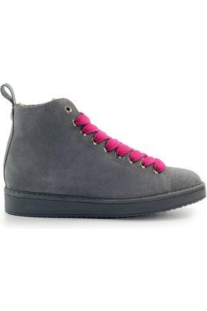 Panchic Ankle Women Grey Camoscio