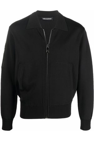 Neil Barrett Men Long sleeves - Zip-fastening long-sleeve sweatshirt