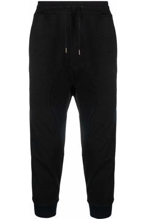 Neil Barrett Men Sweatpants - Tape-detail track pants