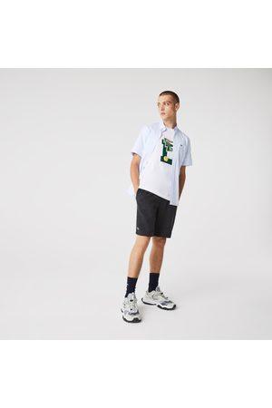 Lacoste Men Sports Shorts - Men's SPORT Tennis Fleece Shorts - XL - 6
