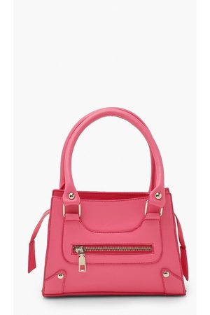 Boohoo Womens Mini Zip Through Cross Body Bag - - One Size