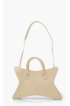 Boohoo Womens Hourglass Shaped Shoulder Bag - - One Size