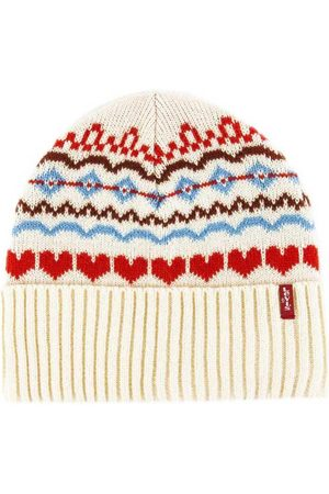Levi's Graphic Beanie One Size Light Yellow