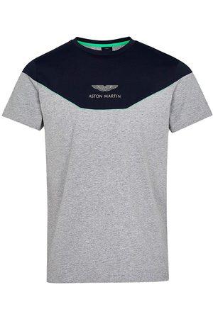 Hackett Amr Multi Short Sleeve T-shirt L Navy / Grey
