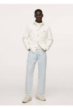 MANGO Men Casual - Corduroy pockets overshirt