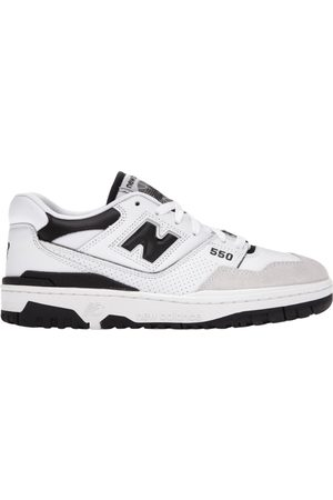New Balance 550 leather trainers