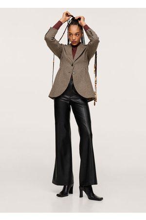 MANGO Pleat detail blazer