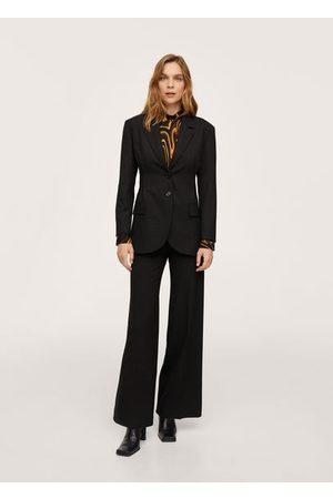 MANGO Women Blazers - Pleat detail blazer