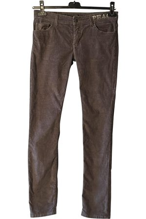 Zadig & Voltaire Velvet straight pants