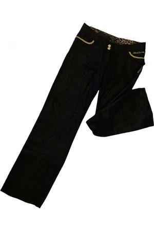 Roberto Cavalli Women Straight Leg Pants - Linen straight pants