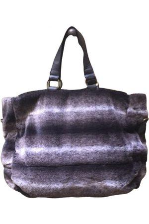 Benetton Faux fur handbag