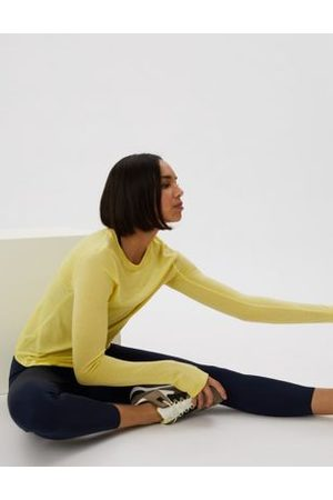 GOODMOVE Women Long sleeves - Merinotec Crew Neck Long Sleeve Top