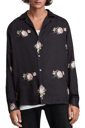 AllSaints Wreath Floral Print Shirt