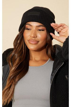 PRETTYLITTLETHING Women Beanies - Chunky Knitted Beanie