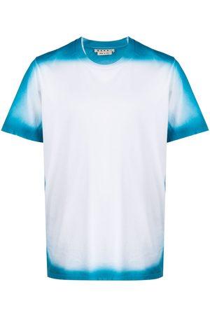 Marni Men T-shirts - Spray paint logo-print T-shirt