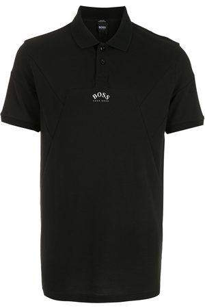 HUGO BOSS Men Polo Shirts - Paule 1 logo-print panelled polo shirt