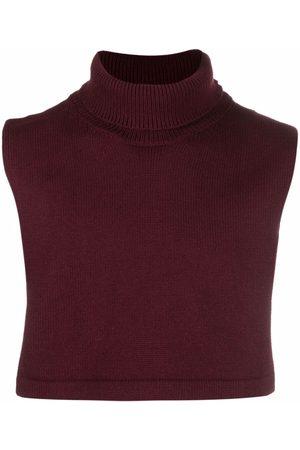 Jil Sander Men Scarves - Roll neck wool scarf