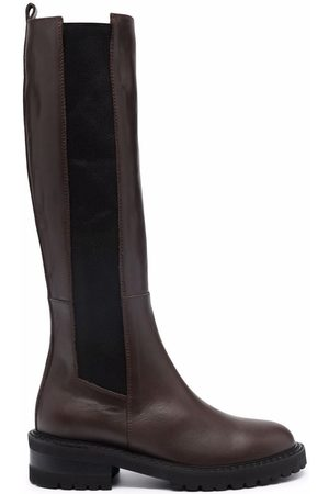 Via Roma Knee-high leather boots
