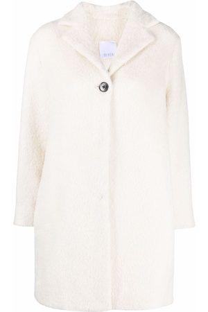 BEVZA Women Coats - Single-breasted wool coat