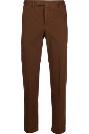 PT01 Tapered-leg wool trousers