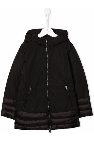 Woolrich Zipped hooded parka coat