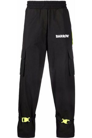 BARROW Logo print cargo trousers