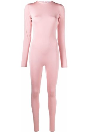 Atu Body Couture Women Jumpsuits - Stretch long-sleeved jumpsuit