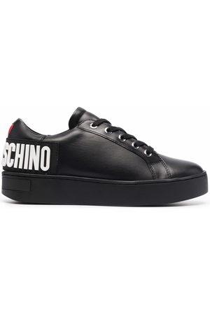 Love Moschino Women Sneakers - Logo-letter low-top sneakers