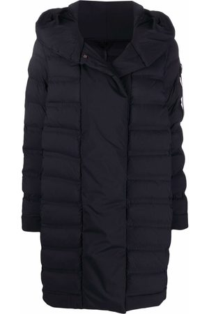 Peutery Women Midi Skirts - Padded mid-length puffer coat