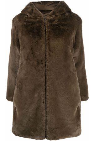save the duck Women Coats - Reversible hooded coat