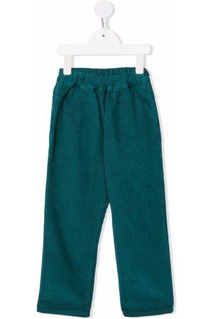 COCO AU LAIT Corduroy straight-leg trousers