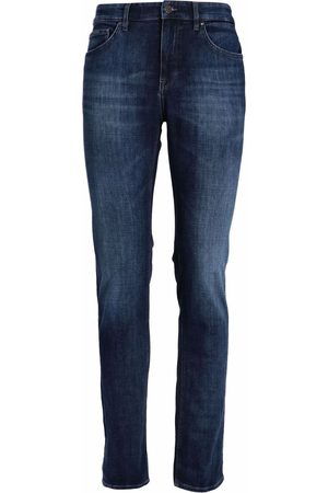 HUGO BOSS Regular-fit cashmere-touch jeans