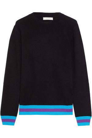 Chinti & Parker Women Sweaters - Woman Striped Wool And Cashmere-blend Sweater Size L