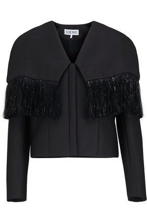 Loewe Women Boleros - Fringed bolero jacket