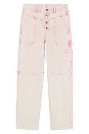 Ba & sh Women Boyfriend Jeans - Ctanguy jeans
