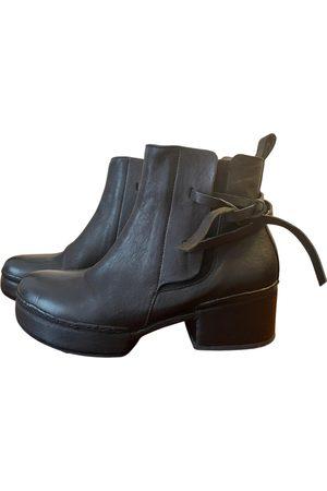 Ixos Leather biker boots